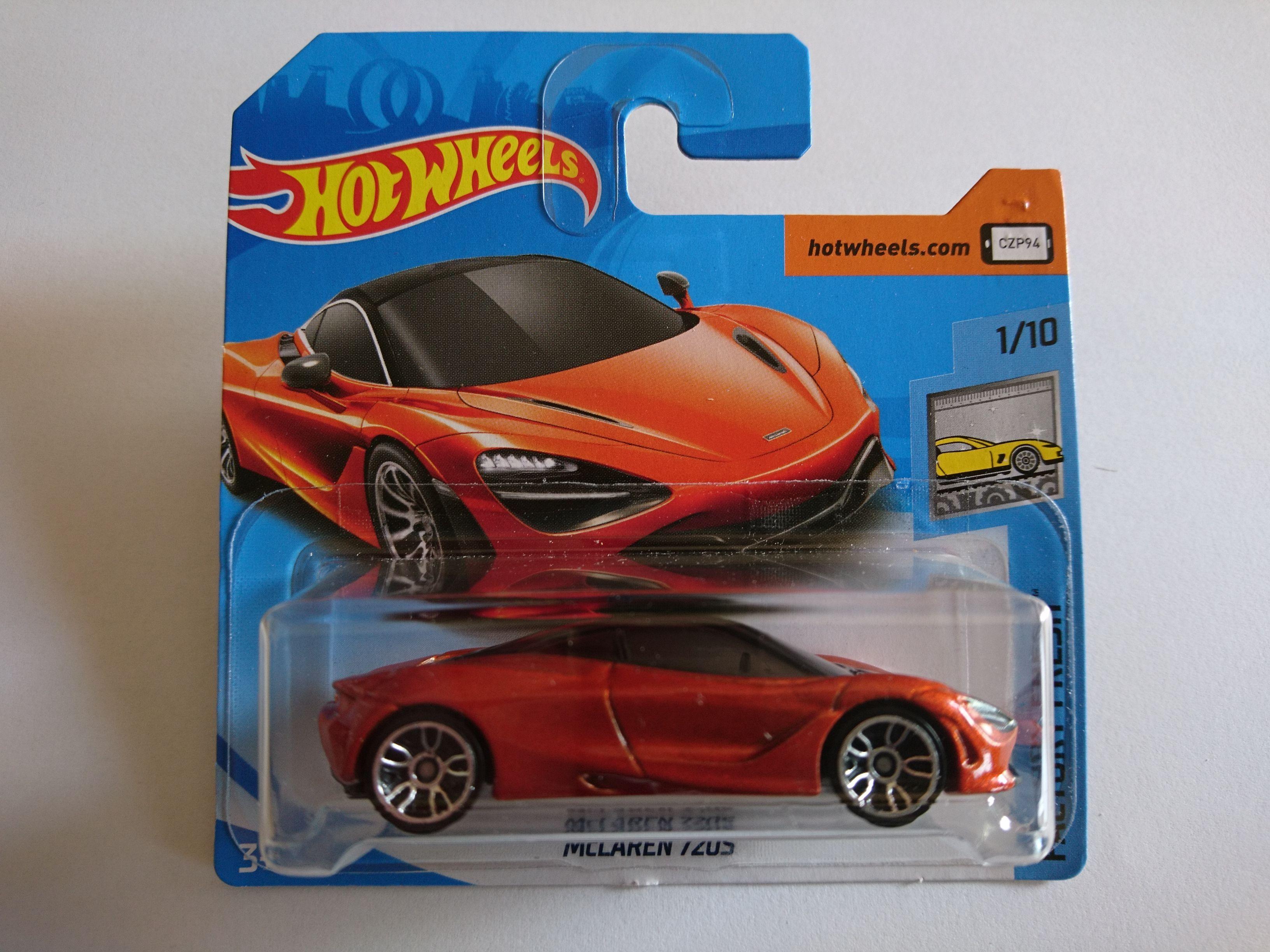 2018 Mclaren 720s Hot Wheels Collection 1 64 Hotwheels
