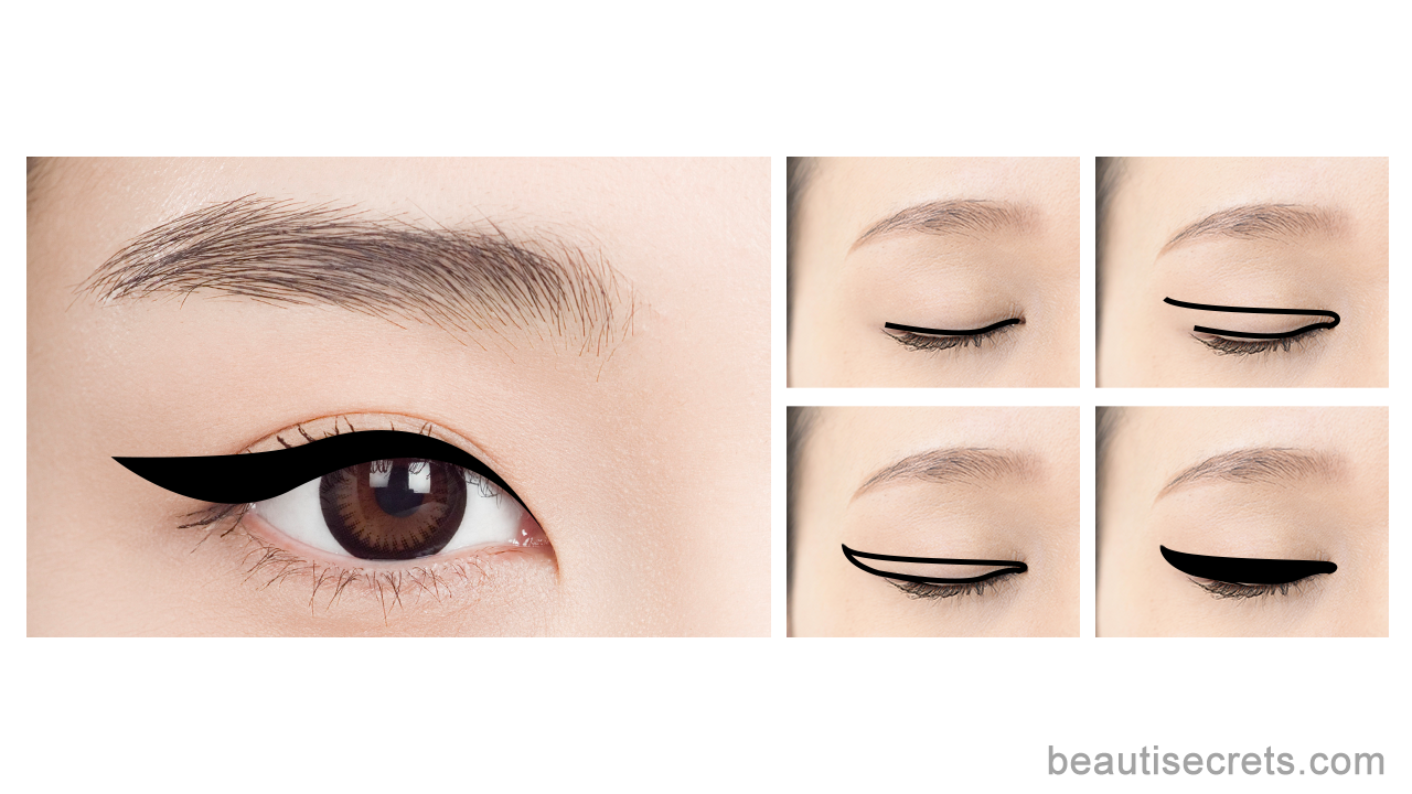 The Winged Eyeliner May Seem Like A Notoriously Tricky Skill To Master But When You Have Buzzl Winged Eyeliner Eyeliner For Beginners Makeup Tutorial Eyeliner