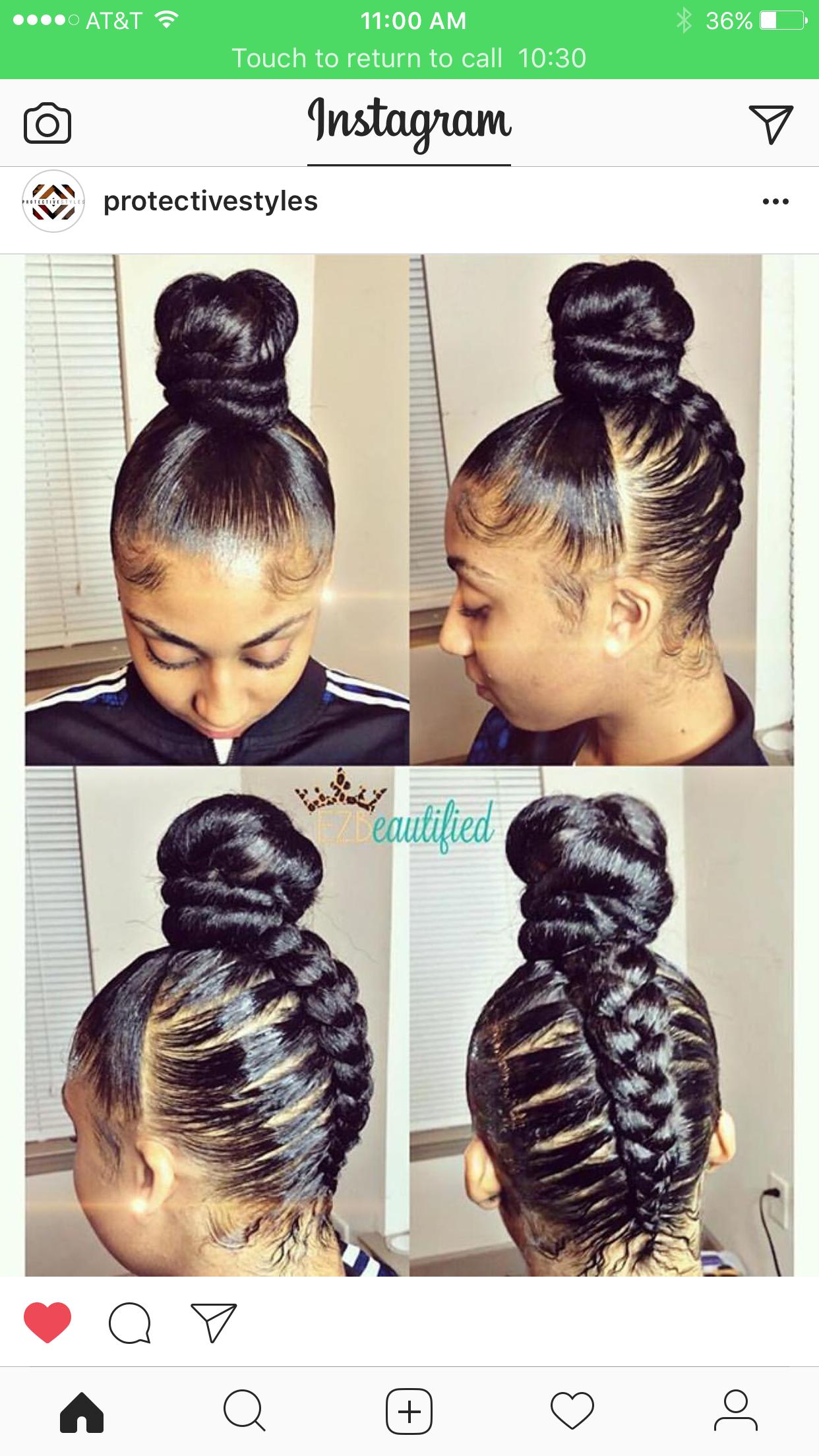 Pinterest Newwaves Black Hairstyles Braided Hairstyles