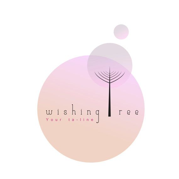 Tree Logo design customizable Premade OOAK modern by Sharmilaw, $100.00