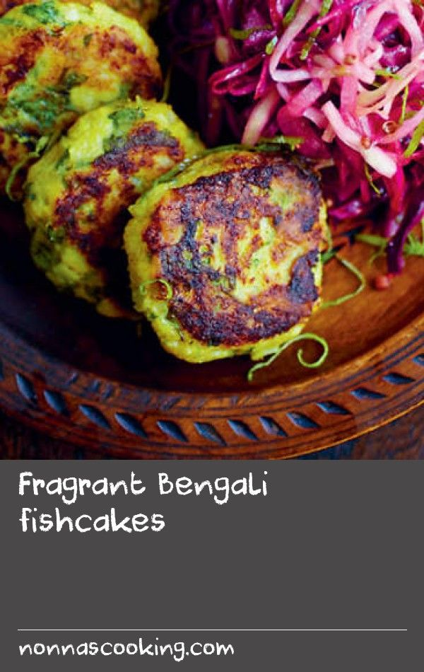 """Fragrant Bengali fishcakes   The cuisine of Bengal is known for its subtle yet sometimes fiery flavours and for its use of fish plucked from the freshwater rivers of the Ganges delta. This recipe comes courtesy of Sarah Tildesley, """"probably the best food stylist in the world"""" saysfood photographer David Loftus. """"She makes a chilli-free version for me, but our friends love these hot balls of spicy Bengali deliciousness"""". They make perfect appetisers, especially when served with a cold beer."""