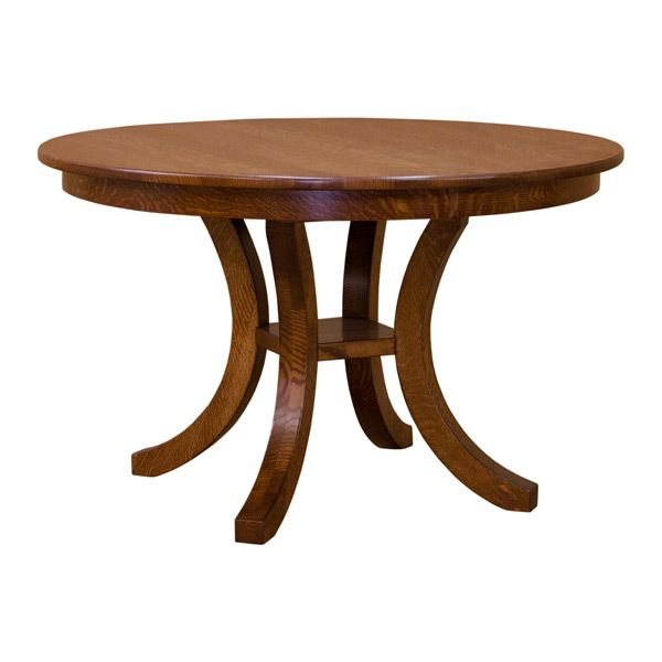Carlyl 48 Round Dining Table Dining Table Dining Table With Leaf