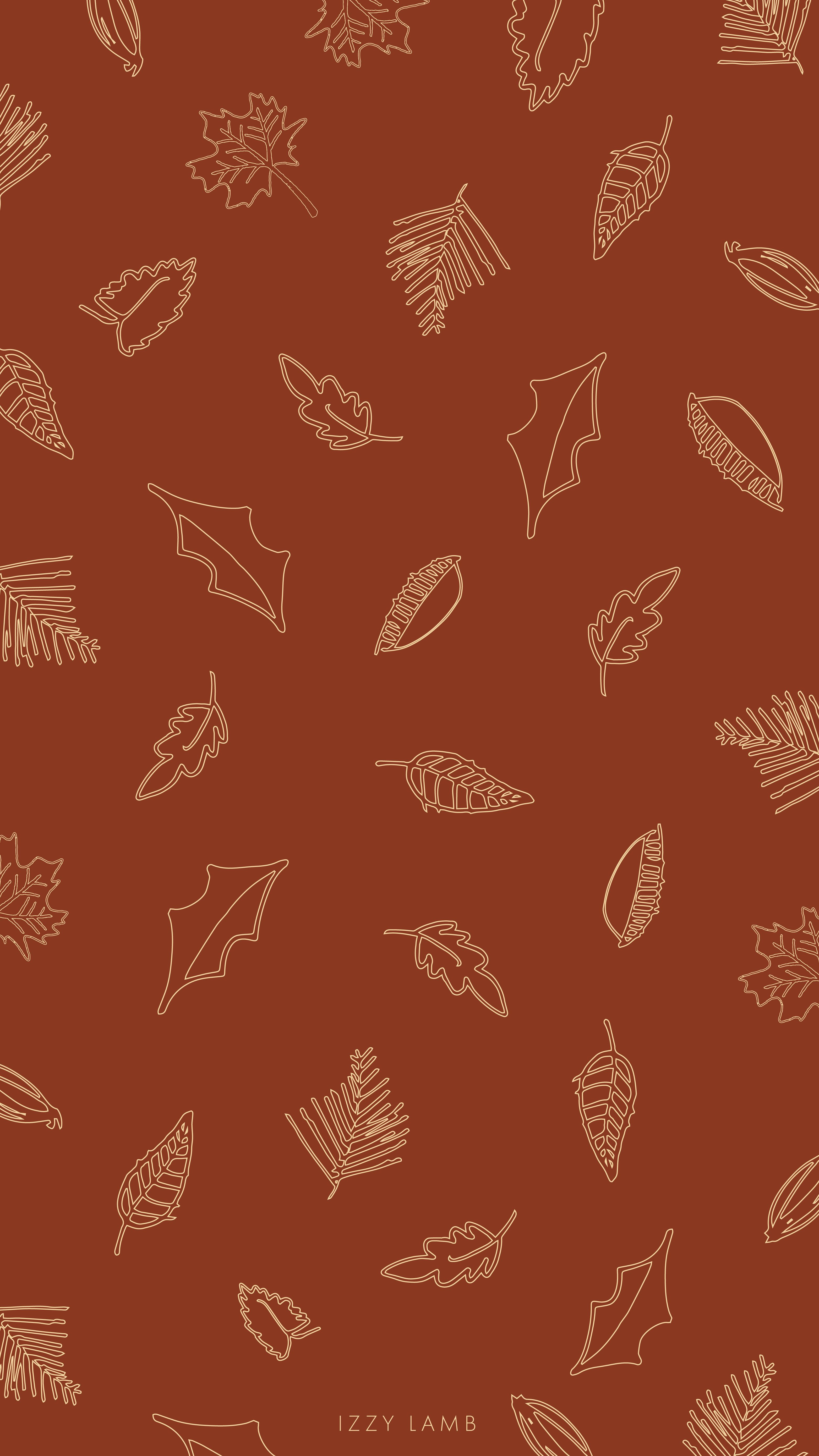 Fall Leaves Iphone Wallpaper Fall Cute Fall Wallpaper Autumn Leaves Wallpaper