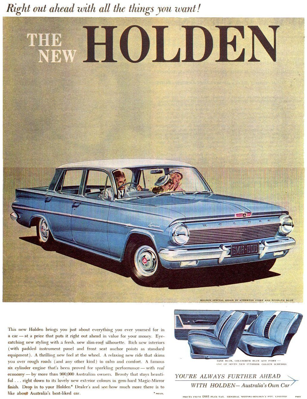 The New Holden | Vintage Ads | Pinterest | Cars, Ads and Holden ...