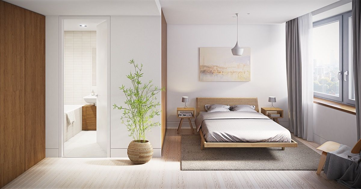 Master Bedroom Minimalist 30+ minimalist bedroom ideas to help you get comfortable | potted