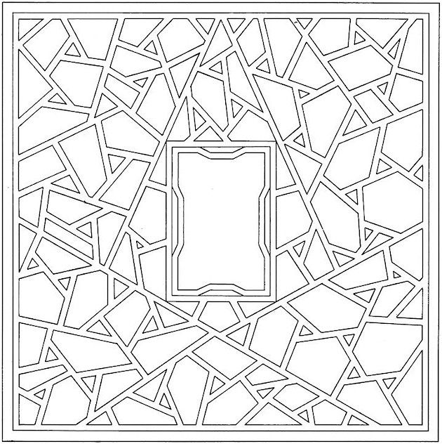 Geometric Shapes Cartoon Coloring Page Shape Coloring Pages Pattern Coloring Pages Coloring Pages