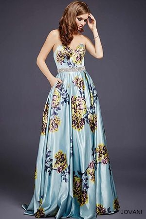 Floral Multi Color Print Dress 29045