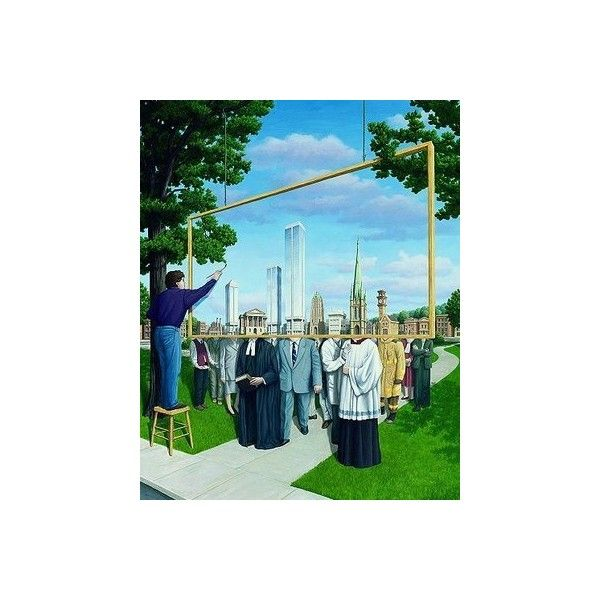 Go To The World...: Jacek Yerka Surreal Art Collection found on Polyvore