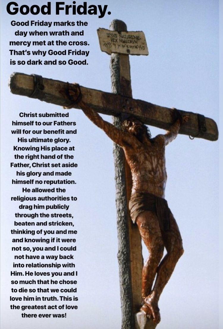 Good Friday Good Friday Scripture Quotes Catholic Faith