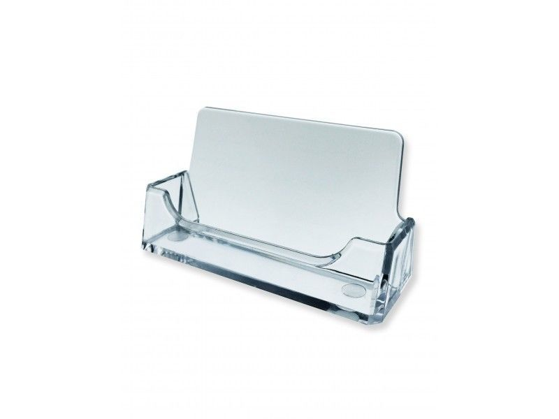 6 Clear Business Card Holder Desk Top Acrylic Office Counter ...