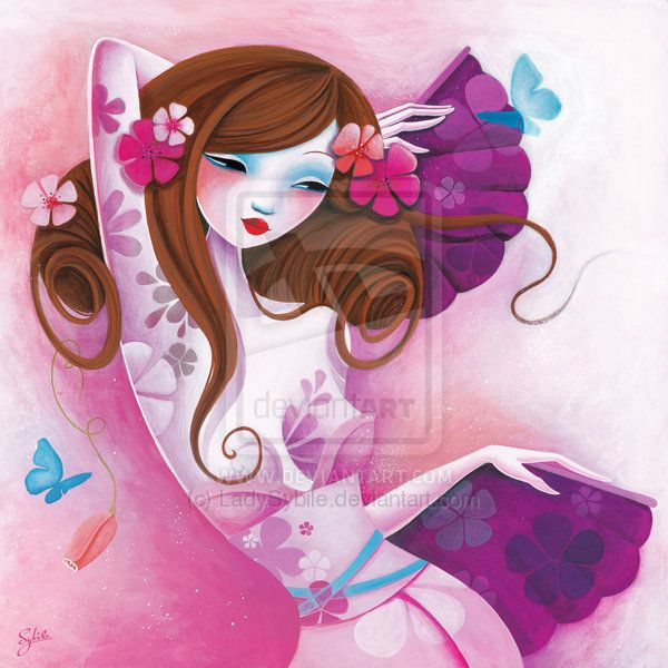 La danse des papillons by LadySybile on deviantART