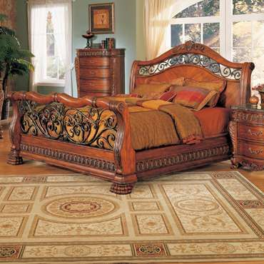 406acd1f26ae3 metal sleigh bed