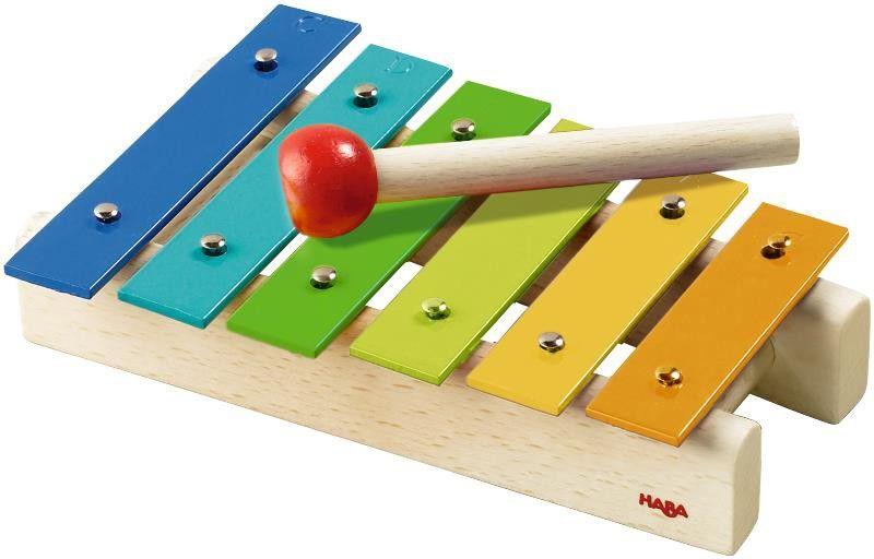 haba musikinstrument xylofon xylophon metallophon 5990 2. Black Bedroom Furniture Sets. Home Design Ideas