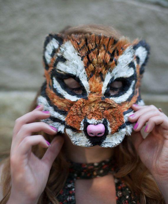 Tiger Mask by MissMaryMask on Etsy