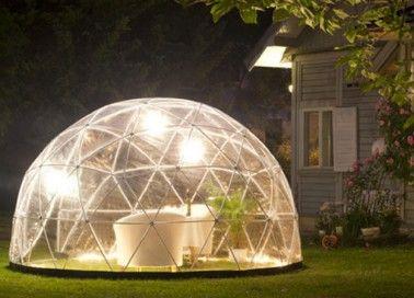 Le Garden Igloo, l\'abri de jardin à la mode ! | Architecture