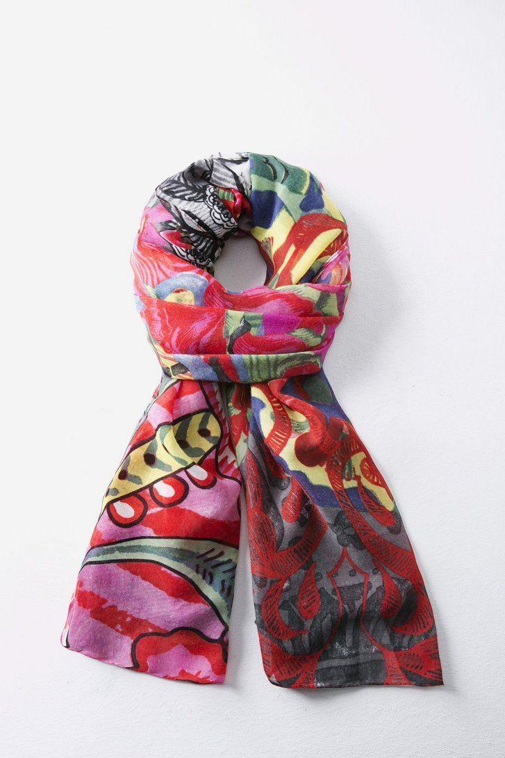 0a0419918a40 Desigual Ashbury 57W54B2   Desigual scarf - foulard AW15   Pinterest ...