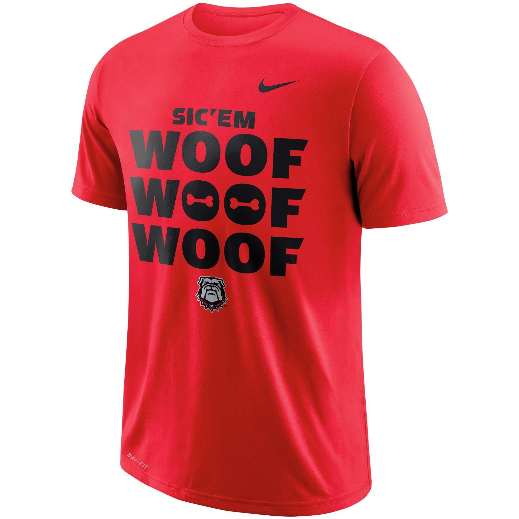 c28e2f60e2fda1 Georgia Bulldogs Nike Performance Cotton Local T-Shirt - Red in 2019 ...