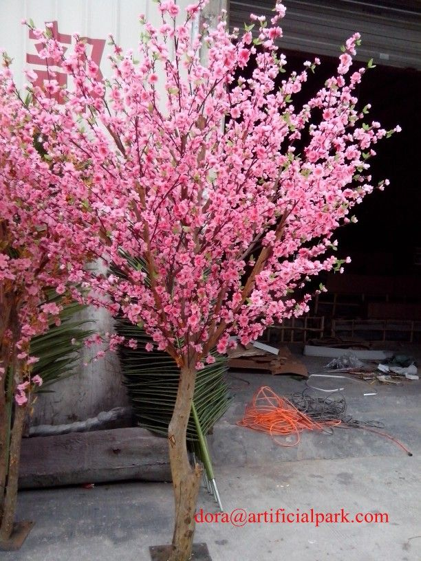 Large Artificial Fake Flower Trees Make In Guangzhou Silk Cherry Blossom Trees Blossom Trees Flowering Trees Cherry Blossom Tree