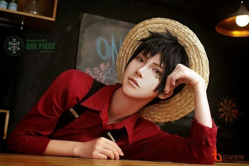 Cosplay Luffy Handsome Anime One Piece Cosplay Pinterest