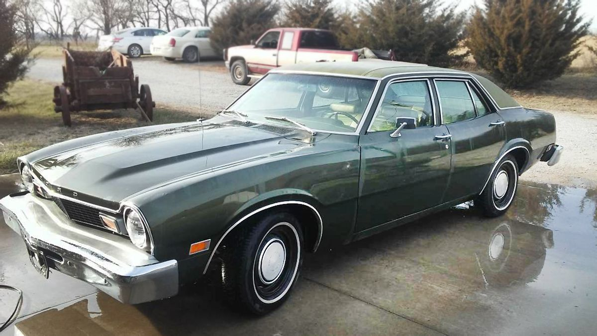 Green With Envy 1976 Ford Maverick Ford Maverick Ford Ford