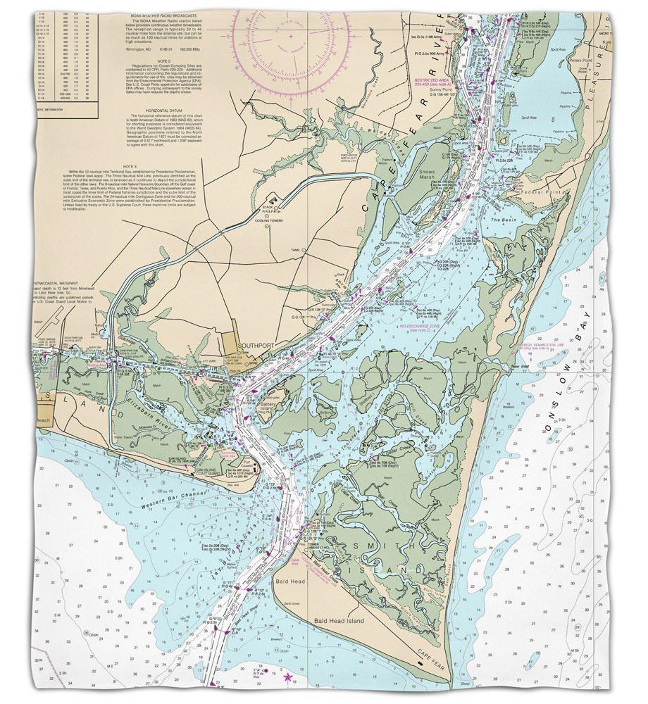 Nc oak island southport bald head island nc nautical chart silk nc oak island southport bald head island nc nautical chart silk touch nvjuhfo Gallery