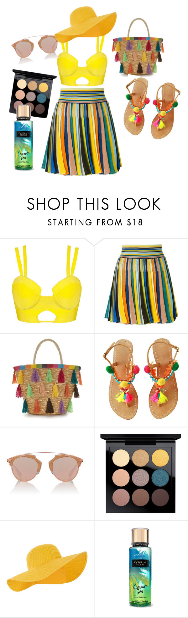 """""""Untitled #134"""" by mikicaajla ❤ liked on Polyvore featuring Missoni, Christian Dior, MAC Cosmetics and Accessorize"""