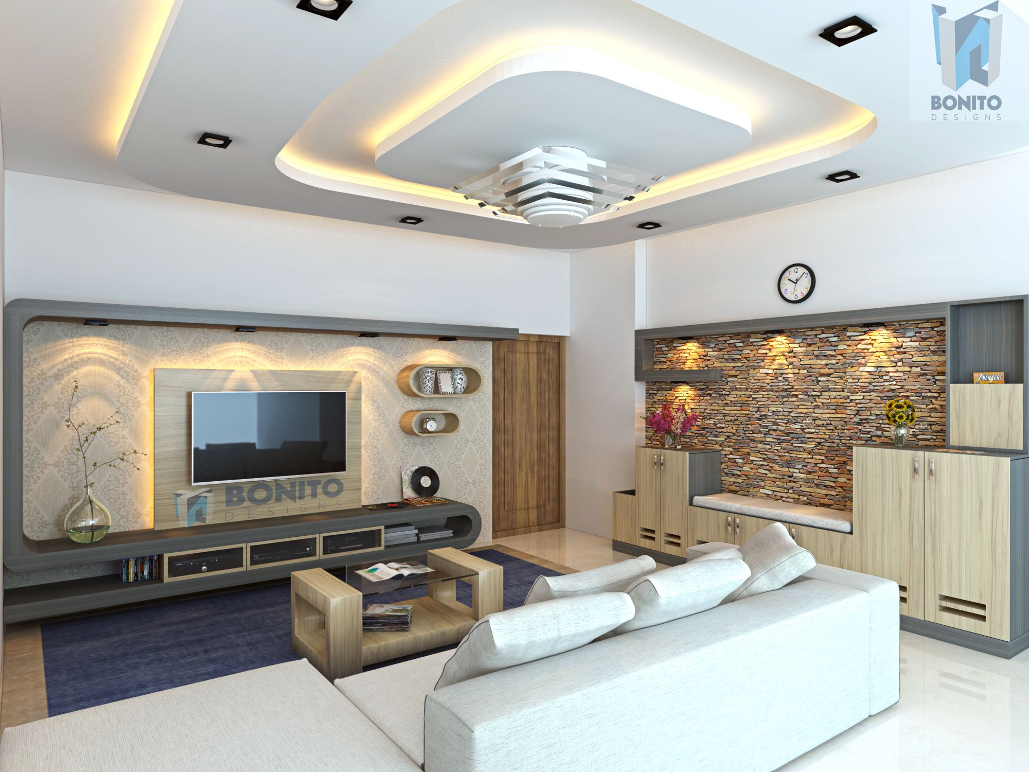 Make Your Living Area Look Pretty With Well Lit Ambience Which