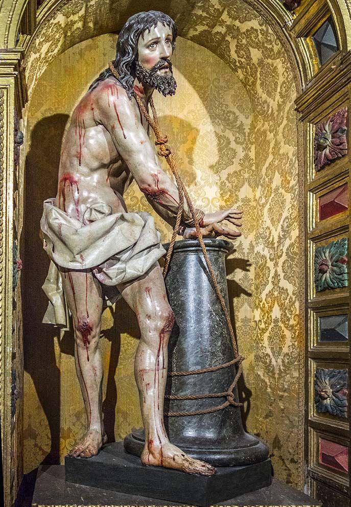 Cristo atado a la columna Ávila - España
