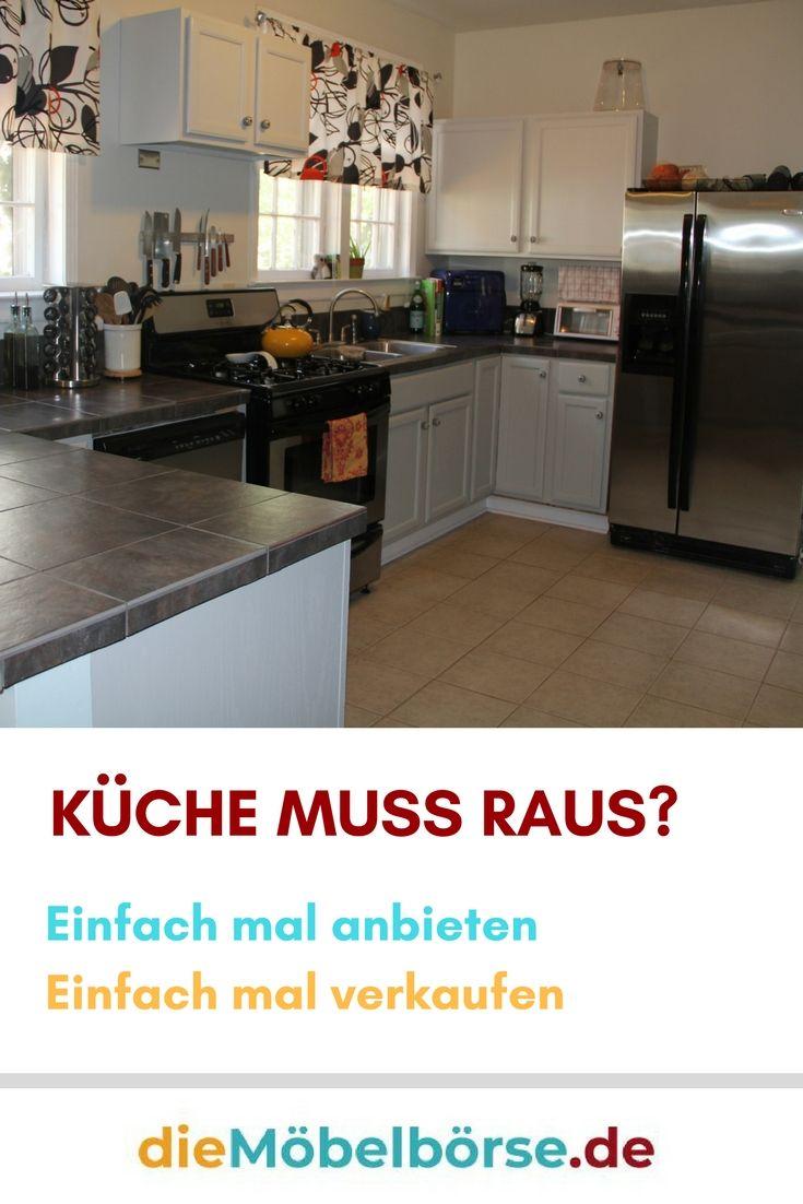 Die neue Küche ist schon bestellt. Wohin also mit der alten Küche ...