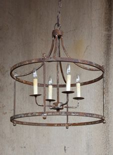 Vintage farmhouse rustic iron chandelier for the home vintage farmhouse rustic iron chandelier aloadofball Image collections