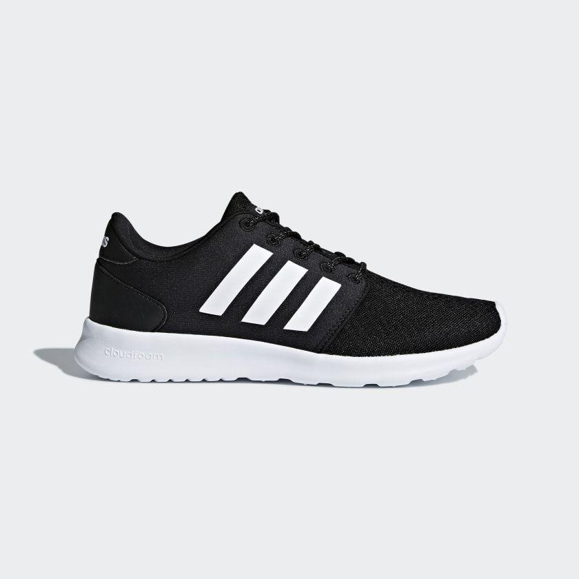 Cloudfoam QT Racer Shoes | Black shoes, Adidas cloudfoam ...