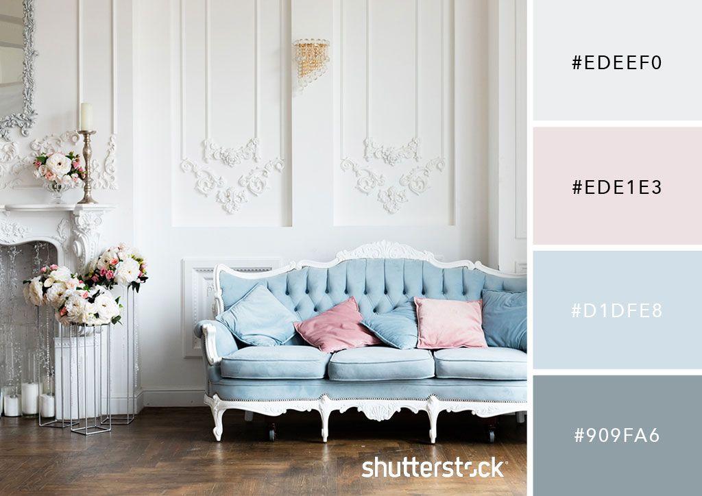 20 Pastel Color Palettes To Get The Rococo Art Look Rococo Room