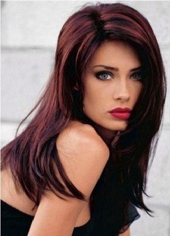 10 Hair Coloring Ideas For Indian Hair And Skin Tone For 2020 Hair Highlights Dark Hair With Highlights Hair Color Auburn