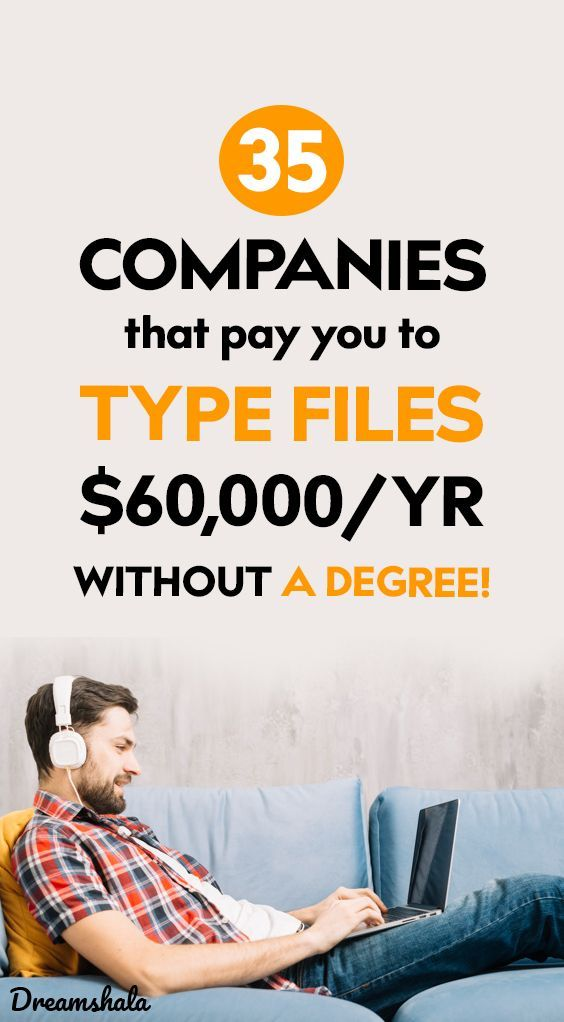 get paid $70,000 per year typing files from home e