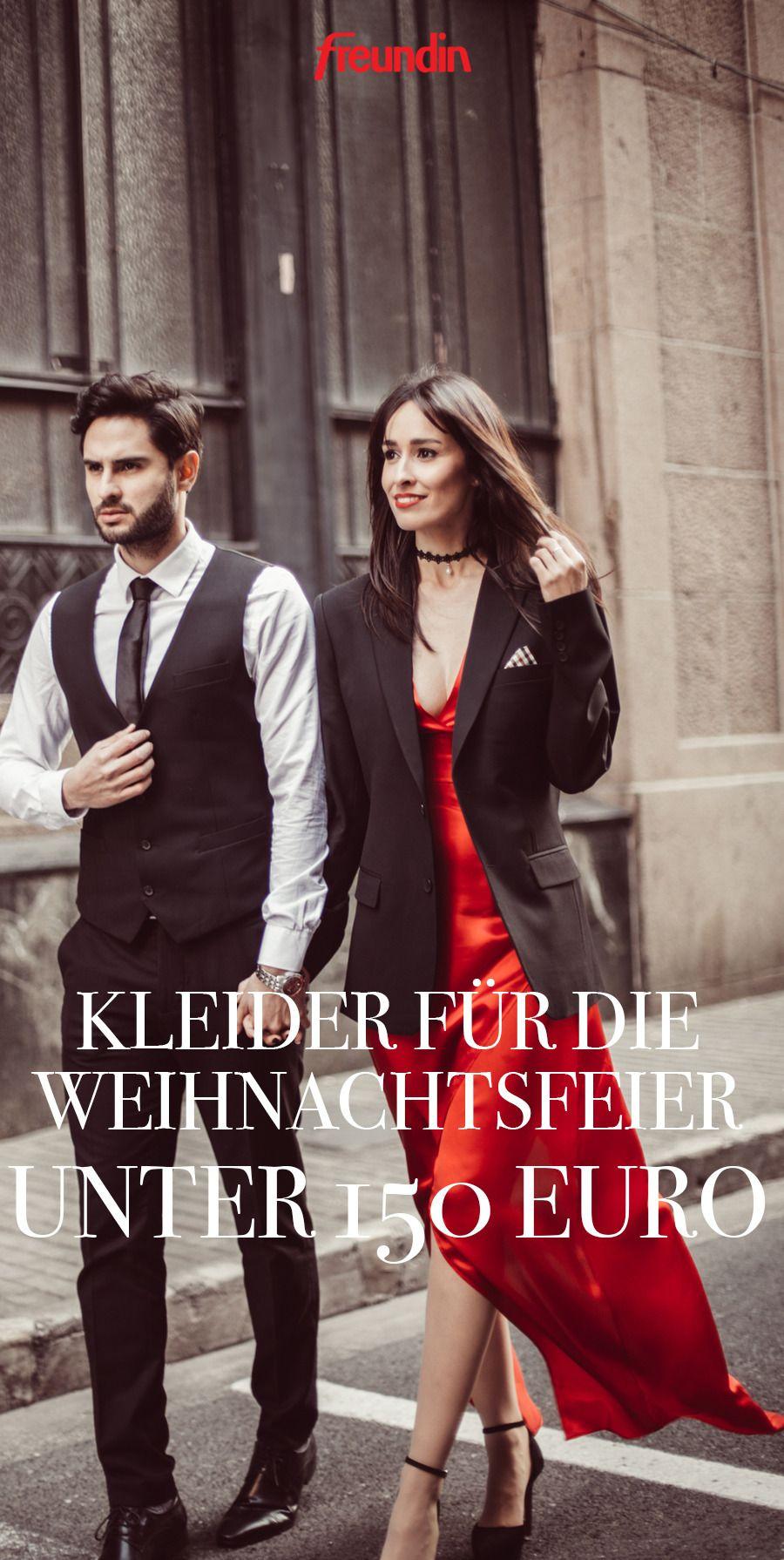 Kleider für die Weihnachtsfeier unter 13 Euro  freundin.de