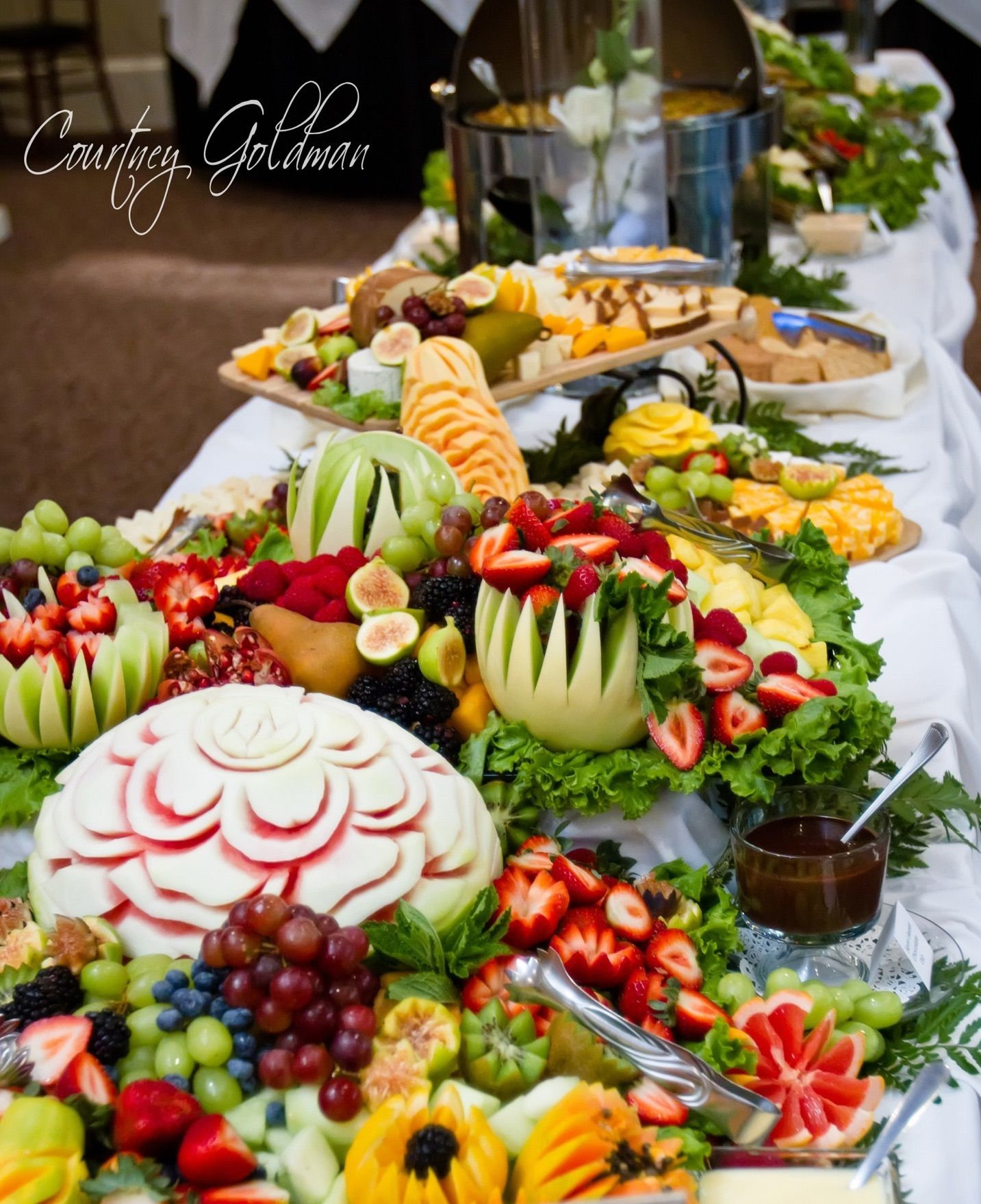 Catering Food For Wedding: Fruit Presentation By Trumps Catering In 2019