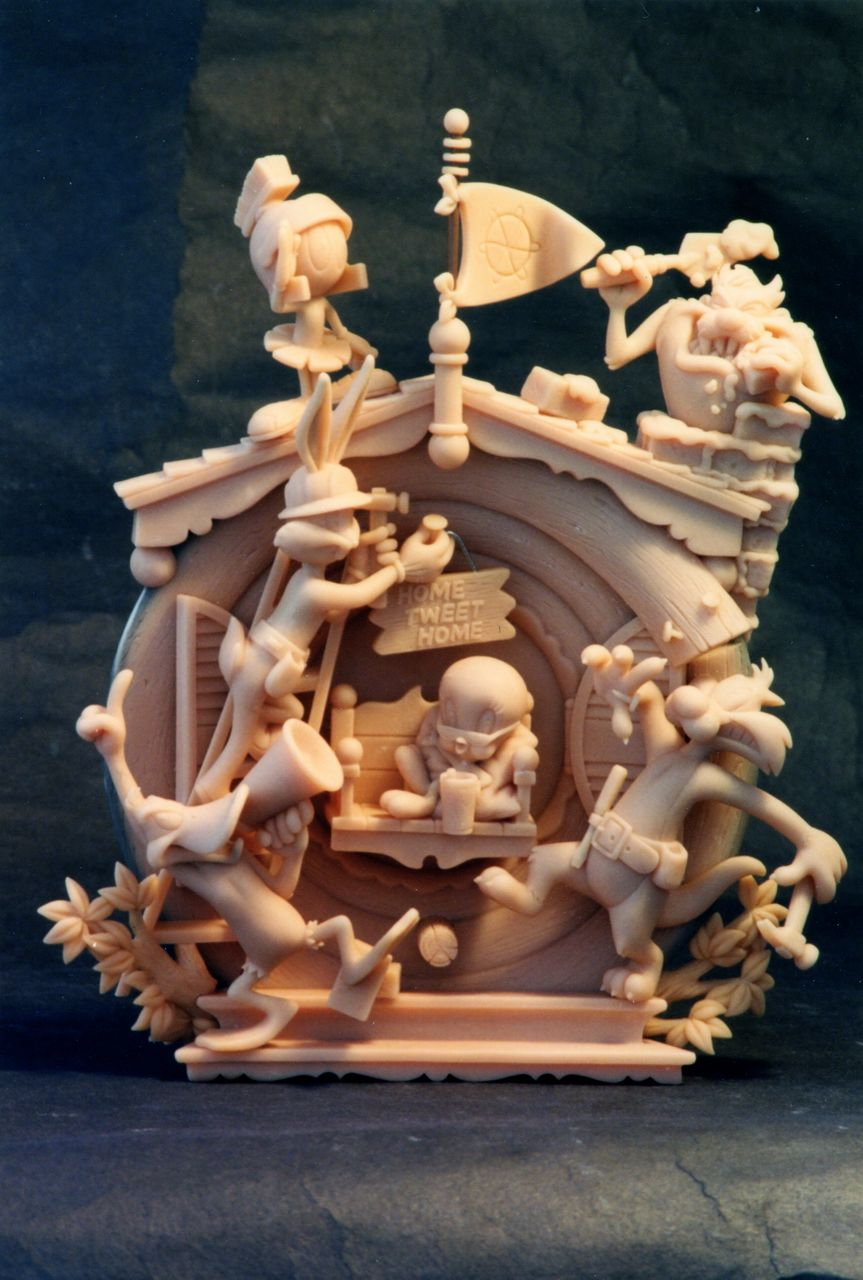 Looney Tunes - Home Tweet Home by sculptor101.deviantart.com on  deviantART 9177bf7bd
