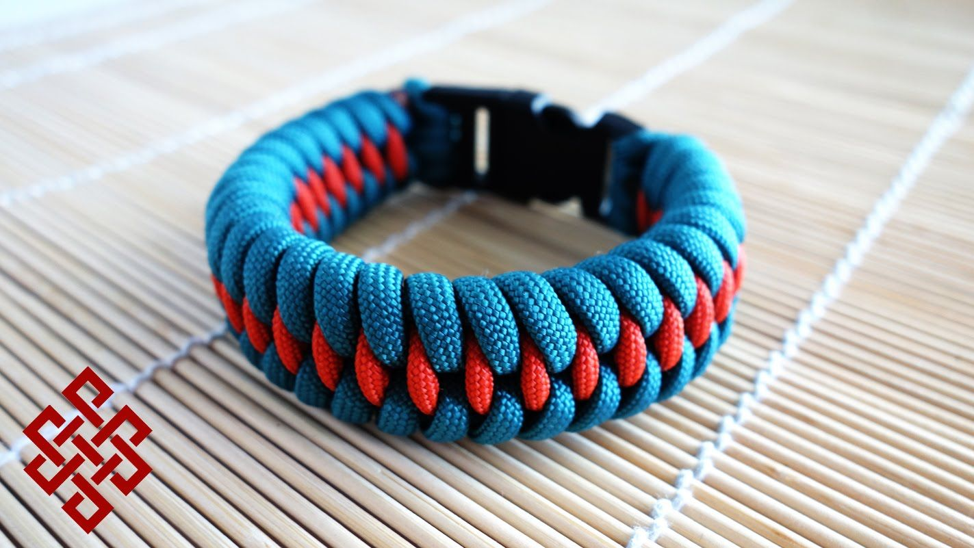 Dragon S Teeth Paracord Bracelet Tutorial I Like This Weave But