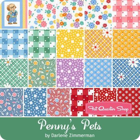 Penny's Pets by Darlene Zimmerman for Robert Kaufman Fabrics ... : quilt shops in ri - Adamdwight.com