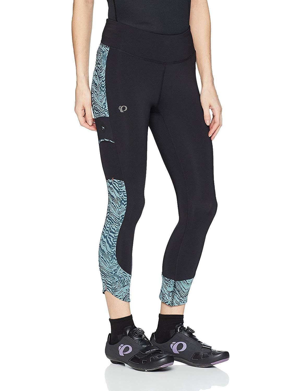 W Escape 3Qtr Tight PRT - Black/Arctic Phyllite - CY184AKK9GO - Sports & Fitness Clothing, Women, Co...