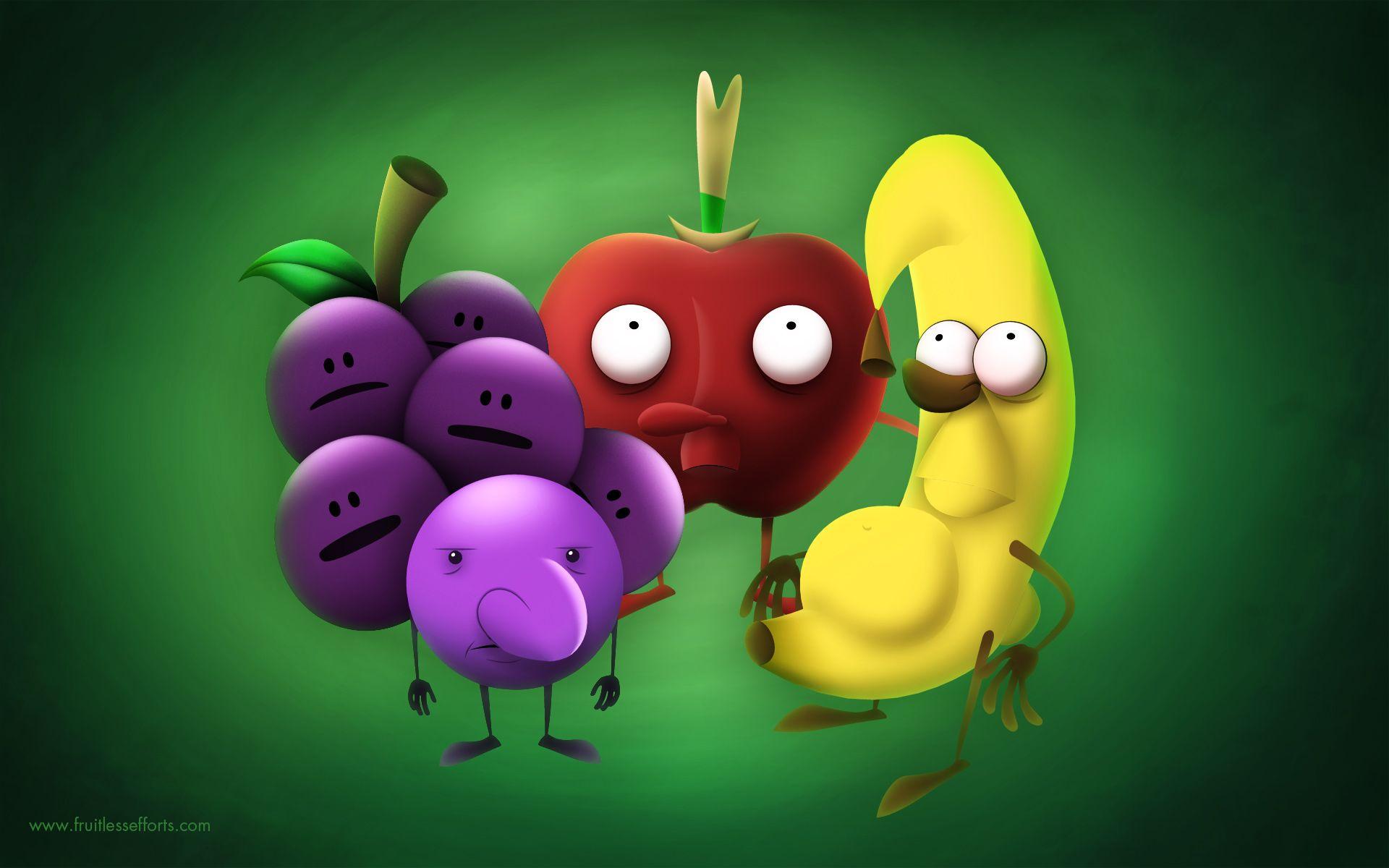 Fruit Cartoons Wallpaper Hd Fruit Cartoon Cartoon