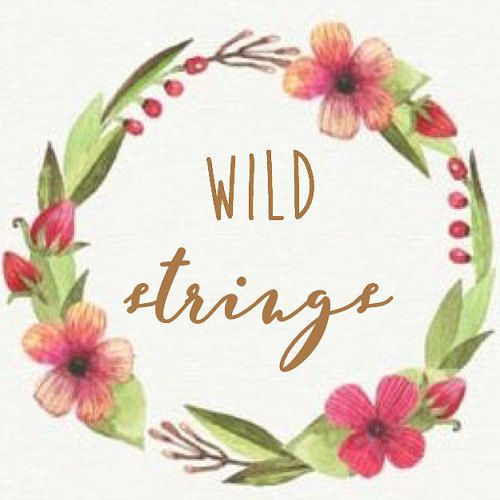 Browse unique items from WildStringsDesigns on Etsy, a global marketplace of handmade, vintage and creative goods.