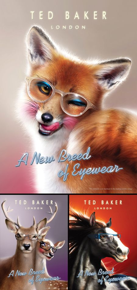 ted baker shoes irr on snout nose animals