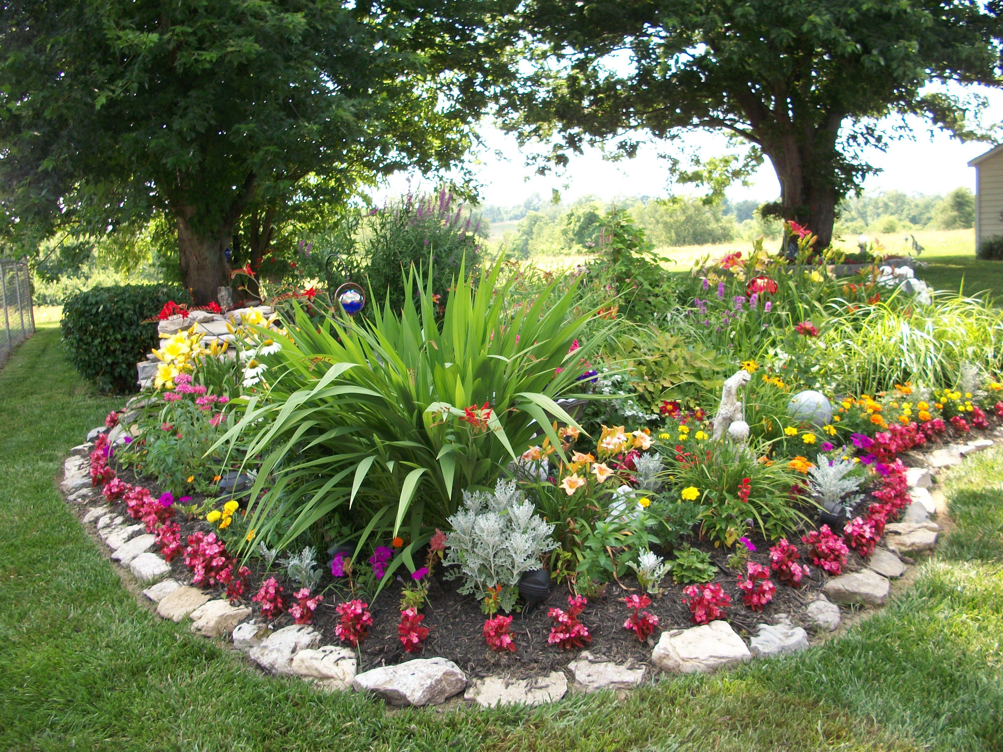 Flower Garden Landscaping Lawn And Garden Garden Landscaping Backyard Landscaping
