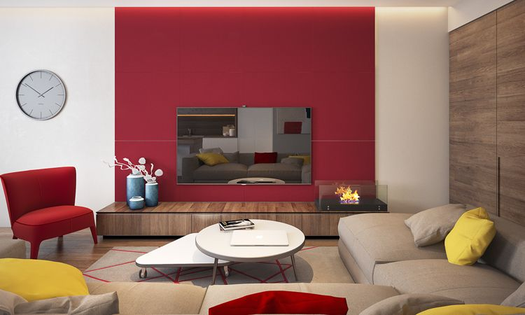 Die Wandfarbe fürs Wohnzimmer nach Feng Shui auswählen ...