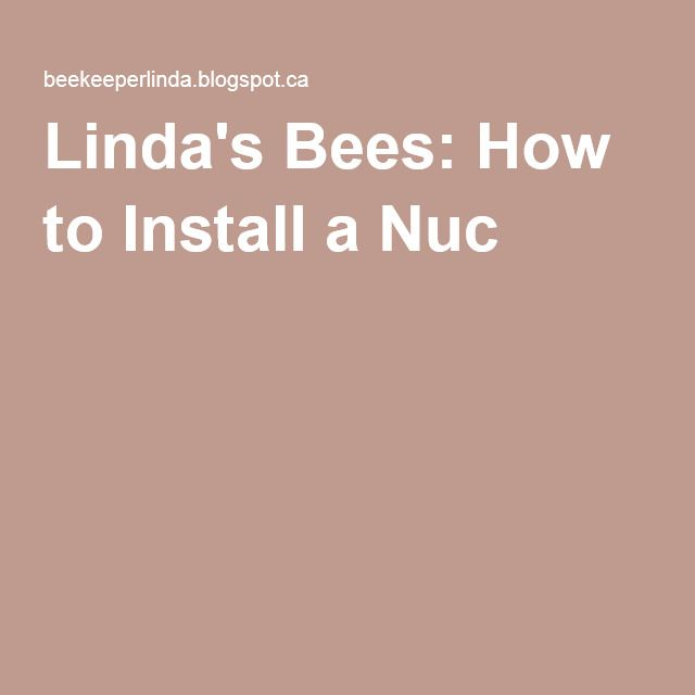 How To Install A Nuc  With Images