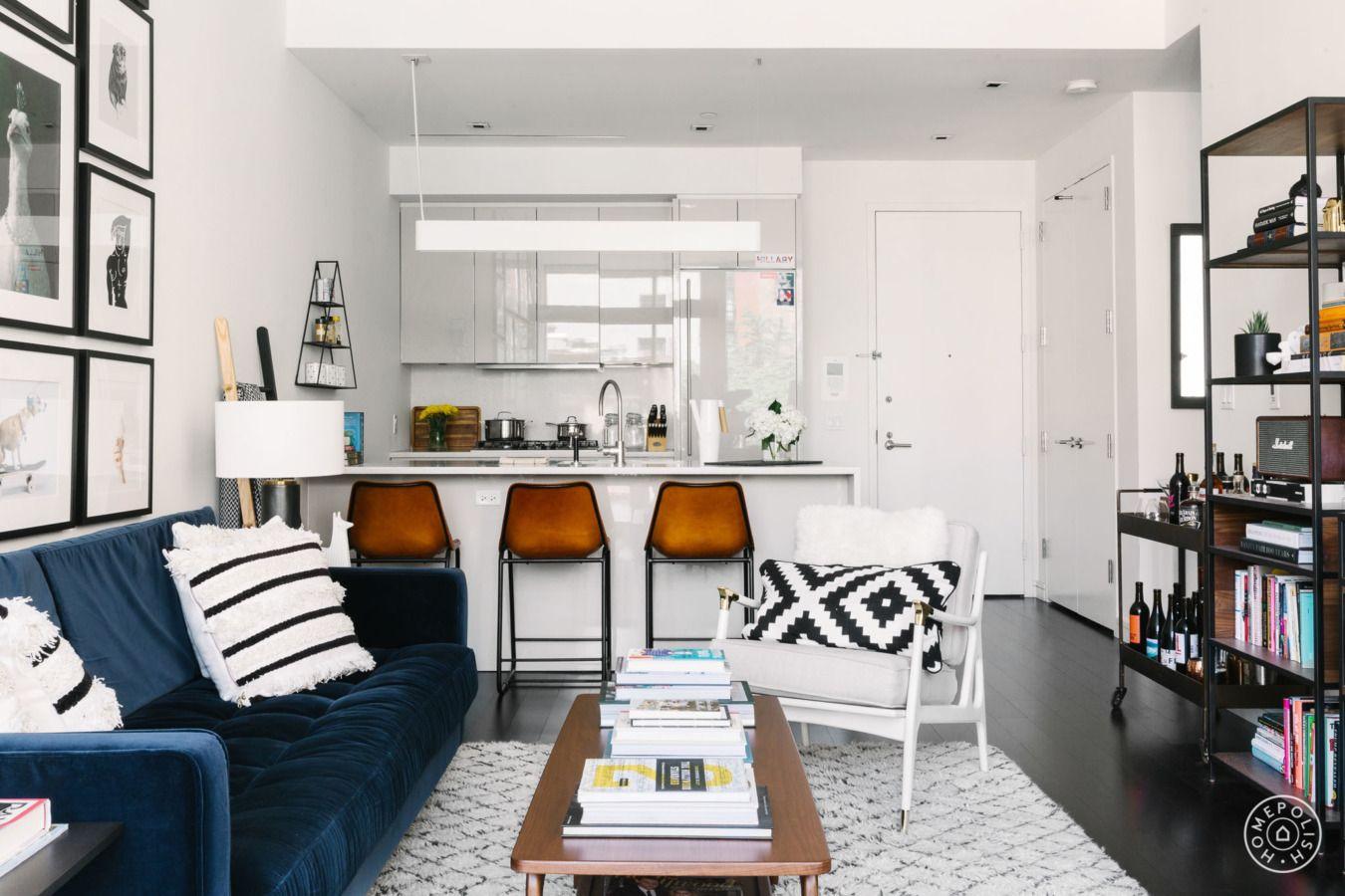 Prises De Vues A New York Petit Salon Condo Deco Decoration Maison