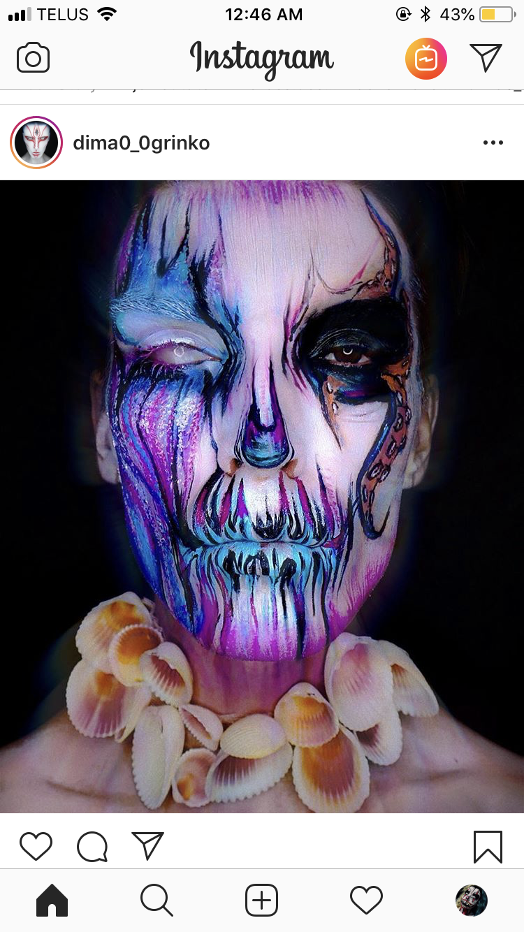 Pin by Christine Serrano on Halloween Theatrical makeup