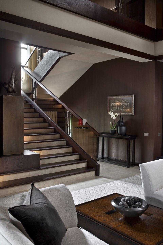 Фото интерьера гостиной дома в современном стиле ...