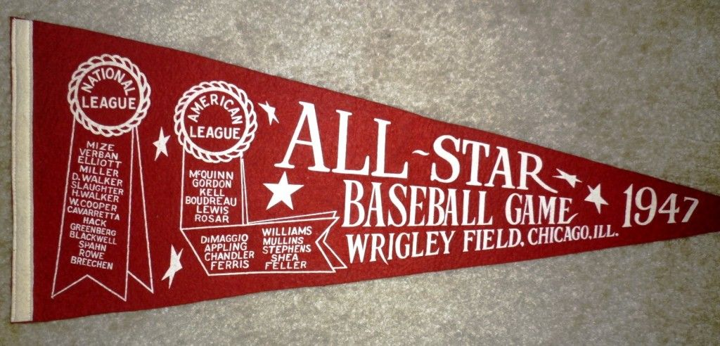 Vintage Sports Pennants Provide Historical And Collectible Value Pennant Vintage Sports American League